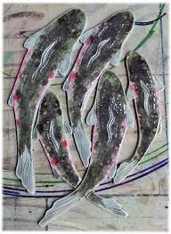 Sliced Pebble Tiles Uk by For Immediate Shipment Rainbow Trout Shaped Fish Tiles For Stone