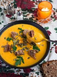 Pumpkin Butternut Squash Soup Vegan by Vegan Creamy Roasted Butternut Squash Soup The Healthful Ideas