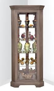 philip reinisch co newport i lighted corner curio cabinet