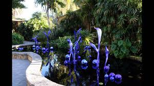 DALE CHIHULY EXHIBIT AT FAIRCHILD TROPICAL BOTANICAL GARDENS