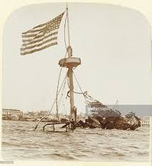 Pictures Of The Uss Maine Sinking by Otd Feb 15 1898 Remember The Maine Her Mysterious Destruction
