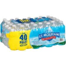 Ice Mountain 100 Natural Spring Water 169 Oz 40 Pk