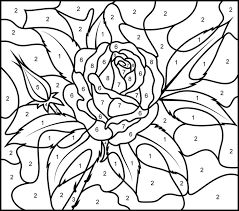 Revolutionary Numbering Coloring Pages Adult Color By Numbers Best 88 Paint Number Images Difficult