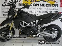 Aprilia Dorsoduro 750 ABS Matte Black 2011 Super Moto Photo