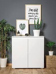 expendio kommode imke 1 weiß 80x80x40 cm sideboard schrank wohnzimmerschrank wohnzimmer esszimmer