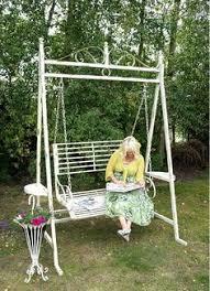 Romantic Metal Garden Swing Seats