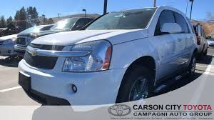Used One-Owner 2009 Chevrolet Equinox LTZ In Carson City, NV ...