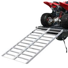 Aluminum Extra-Wide Bi-Fold ATV Ramp - 5'11