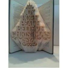 Christmas Tree Books Diy by 38 Best Altered Book Christmas Tree Ideas Images On Pinterest