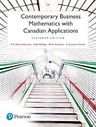 View Larger Cover Contemporary Business Mathematics With Canadian Applications Plus MyLab Math Pearson EText Access Card Package