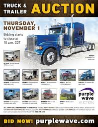 100 Used Semi Trucks For Sale In Texas SOLD November 1 Truck And Trailer Auction PurpleWave C
