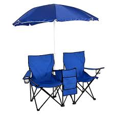 Picnic Double Folding Chair W Umbrella Table Cooler Fold Up Beach Camping  Chair - Buy Double Folding Chair With Umbrella,Twin Beach Chair,Beach ...