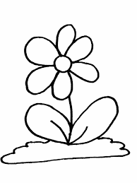 Flower15 Flowers Coloring Pages