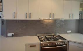 Textured Glass Splashback Byron Bay