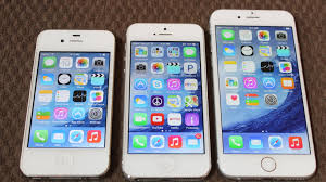 iPHONE 6 SIZE vs iPhone 4s and iPhone 5 PLUS NEW EXTERIOR FEATURES