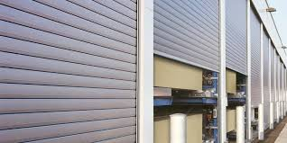 Rolling Door On Storage Facility
