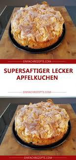 supersaftiger lecker apfelkuchen