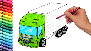 100 Truck Pages Drawing Vehicles And Tractor For Kids Learning S Color