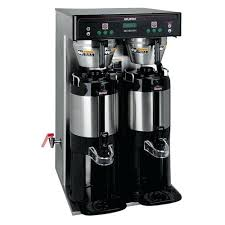 Bunn Coffee Machine Tall Dual Volt W Faucet Cleaning Maker Cwtf15