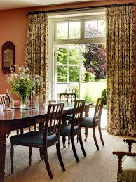 Astounding Dining Room Curtains Traditional And