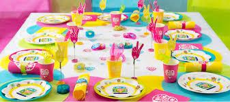 decoration pour anniversaire décorations de table pour anniversaire la fée décoration