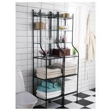 badezimmer standregal aufbewahrung ikea rönnskär regal in