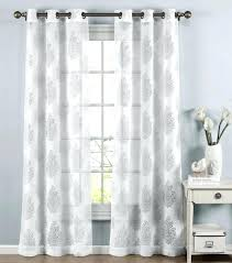 Sheer Curtain Panels With Grommets by White Sheer Panels U2013 Doublecash Me