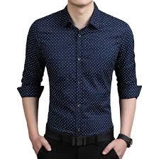 popular red polka dot shirt mens buy cheap red polka dot shirt