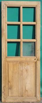 c1va22 porte d interieur vitree en chene