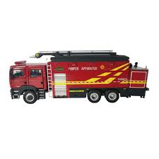 Diecast Foam Model Mini Fire Truck Toy Rc Toy Fire Truck - Buy ...