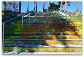 16th Avenue Tiled Steps In San Francisco by Stairways Of San Francisco 8 Fun Finds