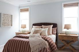 Pottery Barn Seagrass Headboard by Marvelous Seagrass Headboard In Bedroom Traditional With Guest