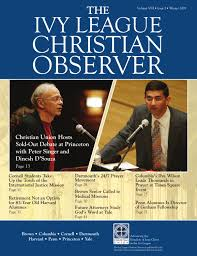 Winter 2009 Ivy League Christian Observer By Union