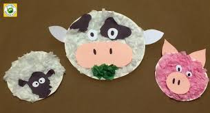 Farm Animal Paper Plate Crafts A Super Fun Kids Craft Made With And