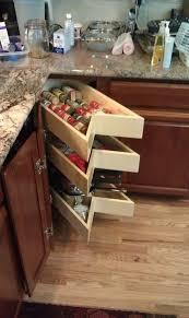Blind Corner Kitchen Cabinet Ideas by Corner Kitchen Cabinet Storage Ideas Best 25 Corner Cabinet