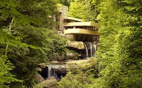 100 Water Fall House River Architecture Frank Lloyd Wright Waterfall