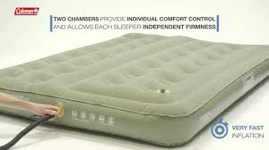 coleman bed coleman comfort bed airbed en
