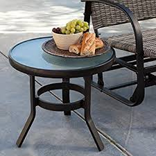 Amazon Coral Coast Del Rey 20 in Patio Side Table Patio