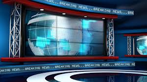 Global News Background Animation Motion