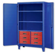 Six Drawer Storage Cabinet by Metal Cabinets In Stock At A Plus Warehouse