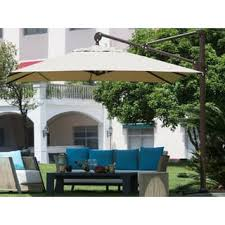 Offset Rectangular Patio Umbrellas by Patio Umbrellas U0026 Shades For Less Overstock Com