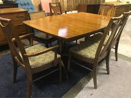 Kent Coffey Signet Dresser by Mid Century Modern Kent Coffey Perspecta Dining Set