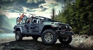 100 4 Door Jeep Truck Mopar Accessorized 2020 Gladiator In Sting Gray