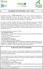 chambre d agriculture du cher bareme d entraide 2014 pdf