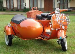 1961 Vespa VBB 150cc With Sidecar