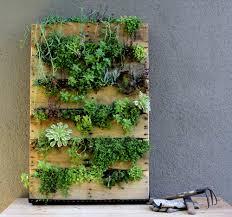 Recycled Pallet Vertical Garden DesignSponge