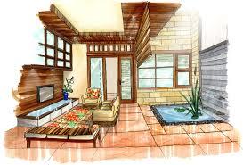 Tropical Living Room By Shinvan