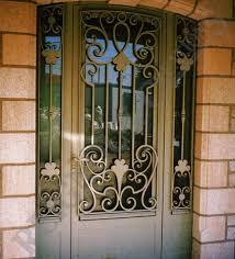 porte entrée fer forgé haut de gamme entryways doors windows
