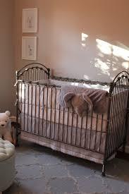 iron cribs shabby posh iron crib in white and nursery necessities