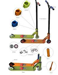 Custom Scooter Parts